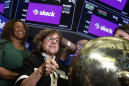 Slack shows up for work and rallies in Wall Street debut