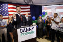 The Latest: O'Connor tries to rally supporters in tight race