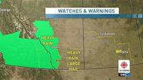 Weather forecast for southern Alberta