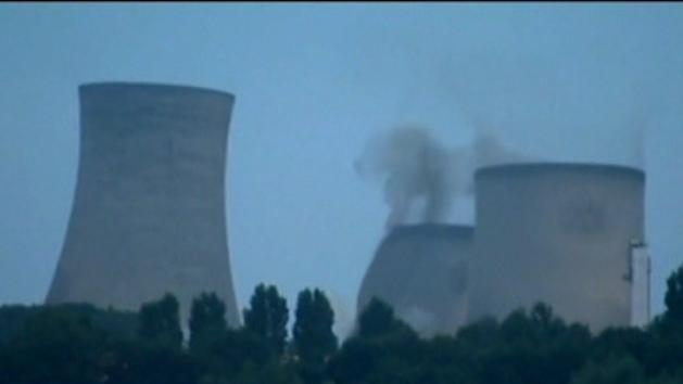 Historic cooling towers demolished