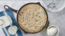 You'll want to eat this giant M&M cookie right out of the pan