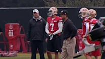 49ers hold first full practice since NFC Championship