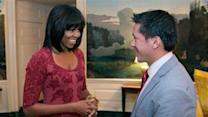 Michelle Obama Joins Twitter, Shows Off Haircut