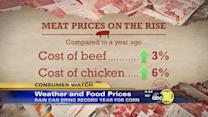 Weather may lead to smaller grocery bills
