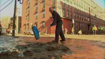 Hoboken cleans up after two water main breaks