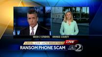 Several targeted in ransom phone scam