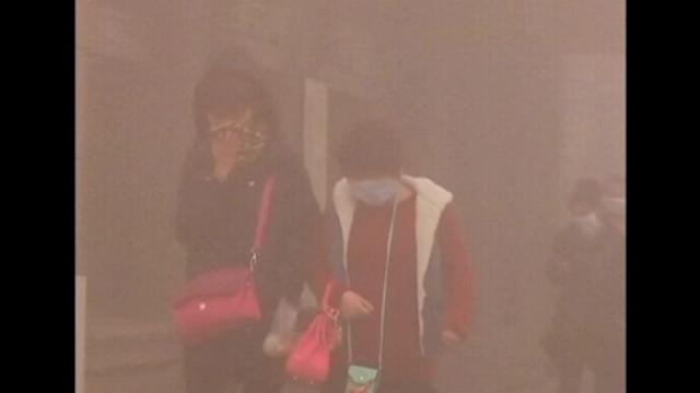 Smog in China's northeast prompts major shutdown