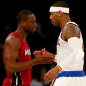 Carmelo Anthony Explains Why Dwyane Wade's Move To The Bulls Was 'Hard To See'