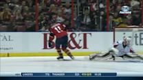 Huberdeau dances around Grubauer in shootout