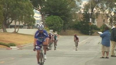 Dozens Compete In Salinas Criterium Bike Race