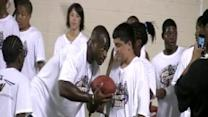 Adrian Peterson Gives Back With Camp