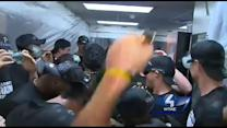 Watch highlights: Pirates locker room celebration