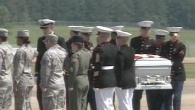 Body Of Fallen Brandon Marine Returned Home