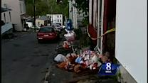 Residents set up memorial near fatal fire scene