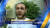 Massive crowds force Summerfest to open gates