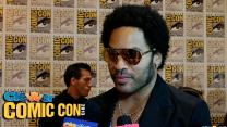 Lenny Kravitz Talks Cinna in Catching Fire & Zoe Kravitz: 2013 Comic-Con