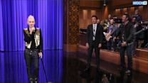 Gwen Stefani Grinds On Jimmy Fallon While Lip-Syncing 'Call Me Maybe'