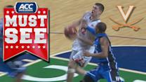 Virginia's Joe Harris With the Tough Hoop & One vs Duke | ACC Must See Moment