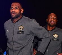 Dwyane Wade and LeBron James' World Series bet is here, and it is very tame