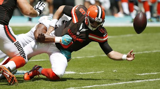 How brilliant are Browns? They unleashed Terrelle Pryor at QB in another tough loss