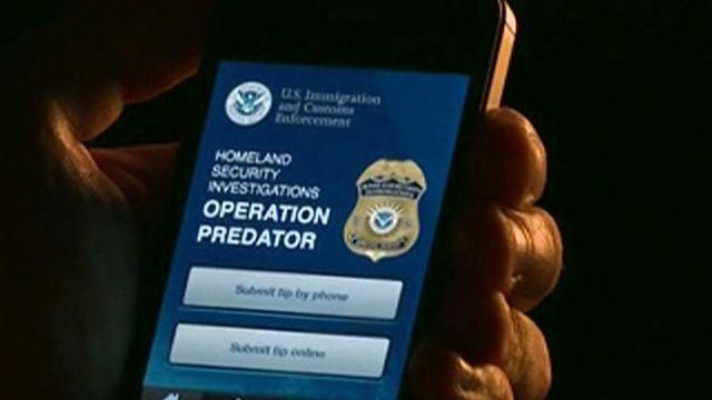 New smartphone app helps catch child predators