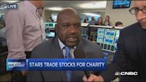 BTIG charity day with Shaquille O'Neal