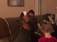 Video captures emotional moment a teenager asks her stepfather to adopt her for Christmas