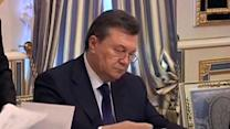 Ousted Ukraine president reportedly in Moscow