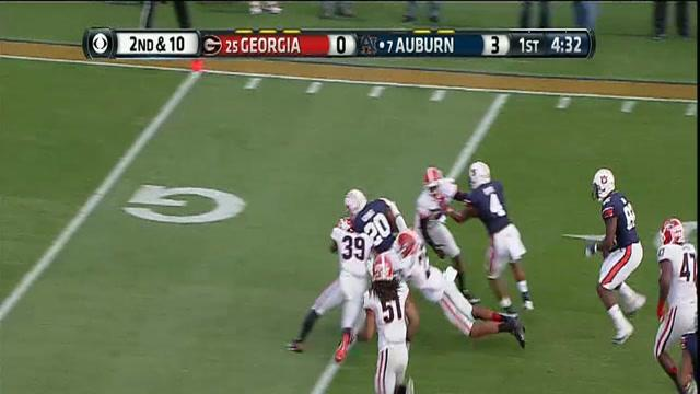 11/16/2013 Georgia vs Auburn Football Highlights
