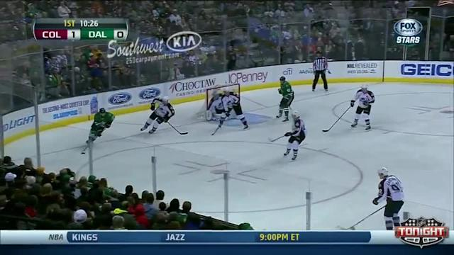 Colorado Avalanche at Dallas Stars - 01/27/2014