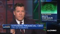Citizens Financial CEO eyes interest rates