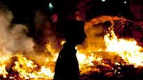 Raw: Protesters, Security Forces Clash in Egypt