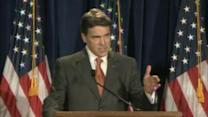 Perry launches White House bid