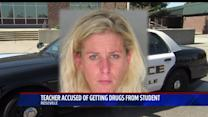 Police: High School Teacher Asked Her Student For Illegal Drugs