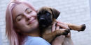 Ariel Winter adopts adorable blue-eyed rescue puppy with boyfriend Luke Benward