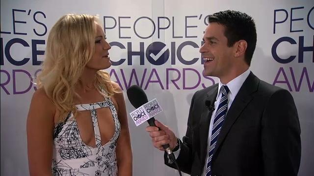 40th Annual People's Choice Awards - Red Carpet Interview: Malin Akerman