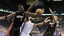 Heat Survive Thunder Rally, Win 100-96