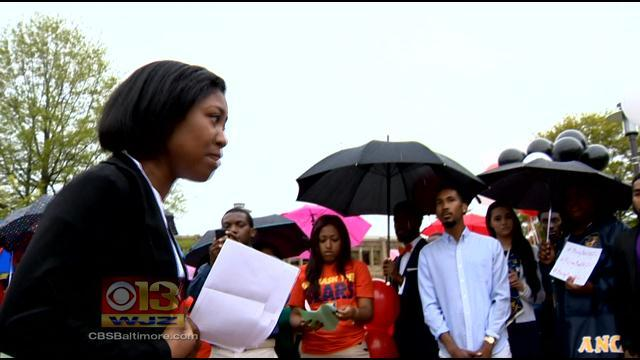 Bring Back Our Girls! Morgan State University Rallies For Kidnapped Nigerian Students