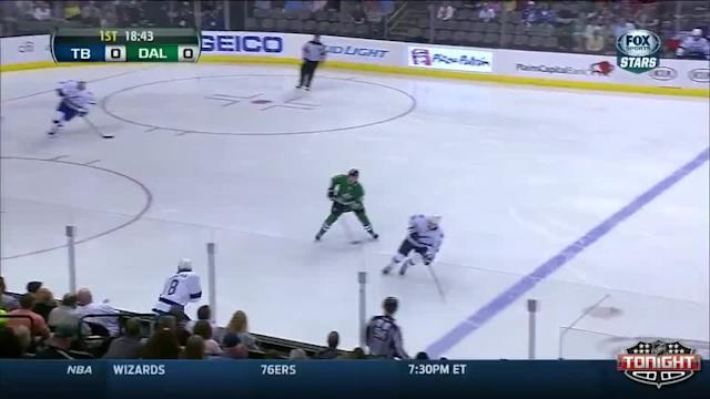 Tampa Bay Lightning at Dallas Stars - 03/01/2014