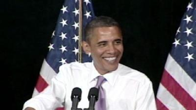 Obama Stumps For Carnahan
