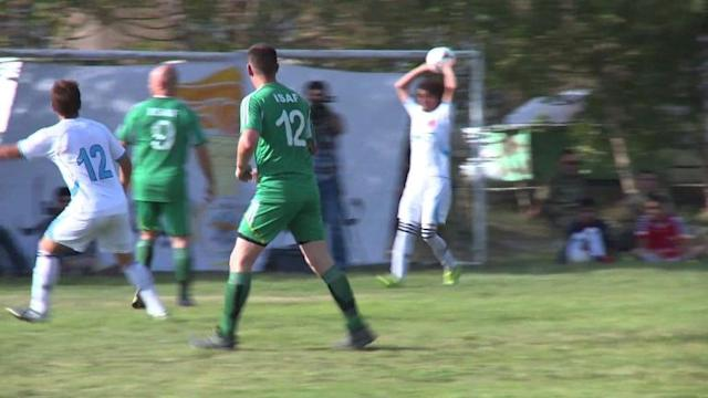 Army football match raises money for Afghan veterans