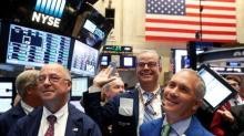 Dollar hits eight-month high, stocks set for weekly rise