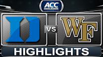 Duke vs Wake Forest | 2014 ACC Basketball Highlights