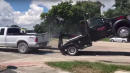 Florida Man Tries To Flee In Pickup, But It's Hooked To Repo Man's Tow Truck