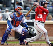 Nationals' Daniel Murphy breaks out of mini-slump with two-hit game vs Mets...