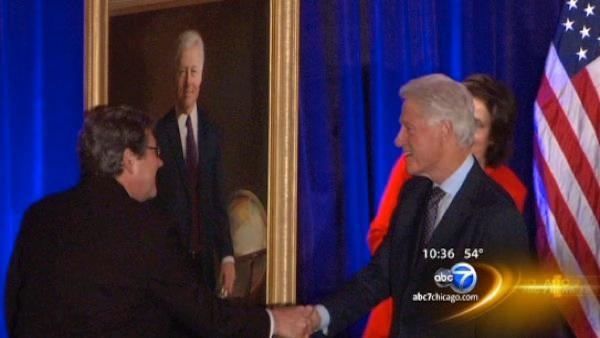 Bill Clinton in Chicago to receive Lincoln Leadership Prize