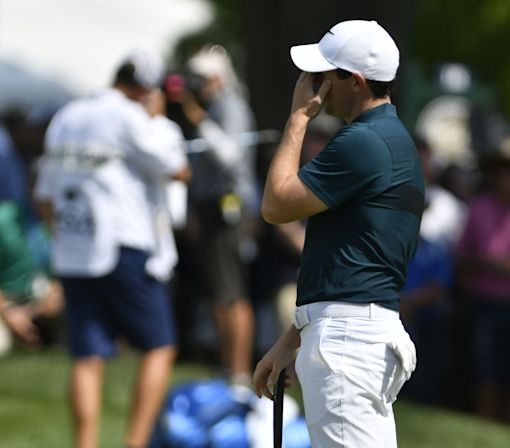 Rory McIlroy's PGA Championship begins with ugly and inefficient first round