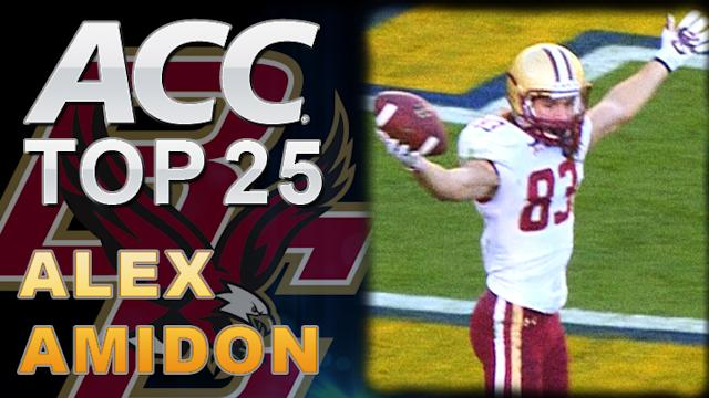 Alex Amidon, Boston College: ACC Top 25 Players to Watch
