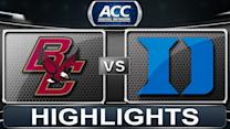 Boston College vs Duke | 2014 ACC Women's Basketball Highlights