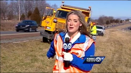 MoDOT crews work to keep highways clean